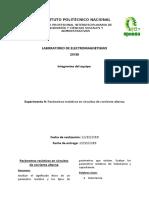 práct. 9 electromagnetismo (parámetros resistivos en circuitos de corriente alterna)