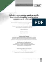 Merchán Paredes, L., Villa Benavides, Selección de personal