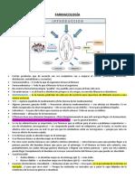 Teoría 1 y 2 (Farmacocinética)