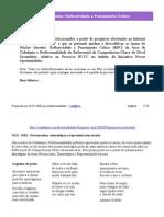 (CP) - Reflexividade e Pensamento Crítico (RPC)