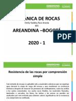 RESISTENCIA A COMPRENSION SIMPLE, MECANICA DE ROCAS.pptx