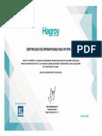 Certificado de Operatividad Nac Nº 079-2020