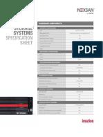 Assureon Spec Sheet Template