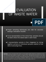 Evaluation-of-waste-water