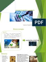 Biotecnología, manipulación genética y productos transgénicos