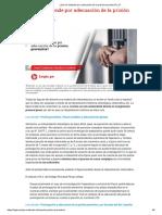 ¿Qué se entiende por adecuación de la prisión preventiva_ _ LP