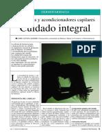 DERMOFARMACIA Champúes y acondicionadores capilares Cuidado integral