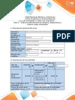 Guía de actividades  y rubrica de evaluación Fase 2 – Indicar perfil del gerente integral, diagnosticar y realizar mapa estratégico.docx