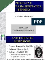HIPERPLASIA PROSTATICA Y ANATOMIA PROSTATICA2.ppt