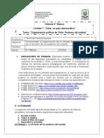 Guía 6° básico PODERES DEL ESTADO