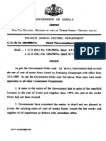 cost of tender document