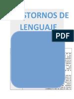Comparativo patologías de habla y lenguaje Aleja