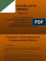 Acto Medico y Responsabilidad Medica