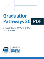 Graduation Pathways 2020 Guidance