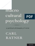 Ratner - Macro Cultural Psychology A Political Philosophy of Mind.pdf