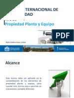 Nic 16 - Propiedad Planta y Equipo - Entregado