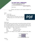 ARK 4.4 Penolakan Pengobatan surat undangan, daftar hadir, dan notulen panduan dan spo