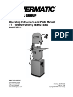 Power Ma Tic Bandsaw Manual