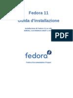Guida d'Installazione Fedora 11