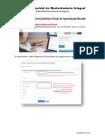 Registro y Matricula Plataforma SVA CIMI Moodle