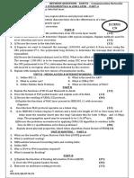 EC8551 Revision Question
