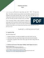 Rangkuman Study Islam part1