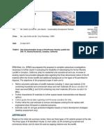 2700-2800 Landfill Site Soil Characterization Proposal April 24 2018