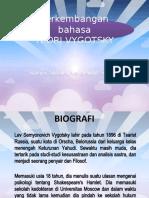 4. Perkembangan Bahasa Vygotsky-1