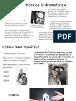 caracteristica y estructura tematica