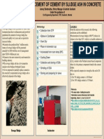 Poster Template PARTIAL REPLACEMETN OF CEMENT BY SLUDGE ASH.pdf