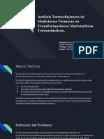 Análisis Termodinámico de Mediciones Térmicas en Transformaciones Martensíticas Termoelásticas..pdf