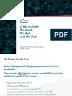 CFIUS in 2020 (Jan 26 -- final).pdf