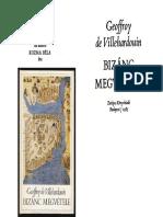 Geoffroy de Villehardouin - Bizánc megvétele.pdf