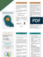 Folheto Psiquiatria, Psicologia, Sexologia Clínica