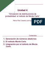 Unidad 4. Simulaciones. Monte Carlo