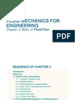 Chapter 3 Fluid Mechanics for Engineering