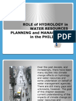 102507342-Role-of-Hydrology-in-Water-Resources-Planning-And