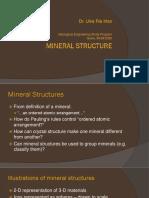 2. Structure Minerals