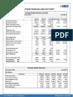 Q1FY2020_Financials & Fact Sheet