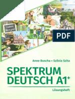 Spektrum Deutsch A1 Loesungsheft