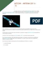 Funk_ UHF-Satcom - Antena DIY X-WING (parte 1)