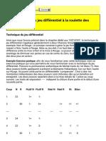 2 Applications en Jeu Différentiel a La Roulette d