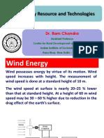 RDL 722 - Wind Energy