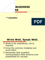 9 Business Grammar