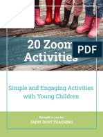 Zoom Activities for online teaching