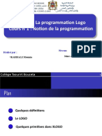 Notion de la programmation