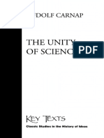 The Unity of Science
