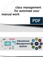 Automate your manual work by coaching class management software