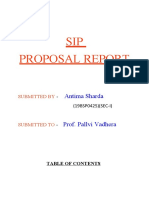 Antima SIP proposal modified report (1)