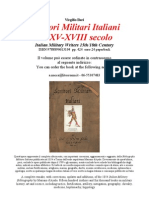 SCRITTORI MILITARI ITALIANI. ITALIAN MILITARY WRITERS An Italian Military Bibliography up to 1799 collected by V. Ilari
